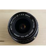 Asahi SMC PENTAX-M 28mm 1:3.5 Vintage Camera Lens Japan - $29.99