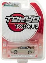 Greenlight 1:64 Model Car - Tokyo Torque S1 Nissan Skyline GT-R R34 M-Spec - $14.75