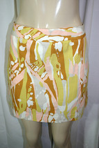 New J CREW Sz 6 Multicolor LIMONCELLO Abstract Print Mini Pencil Skirt F... - $35.64