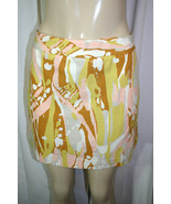 New J CREW Sz 6 Multicolor LIMONCELLO Abstract Print Mini Pencil Skirt F... - £27.59 GBP