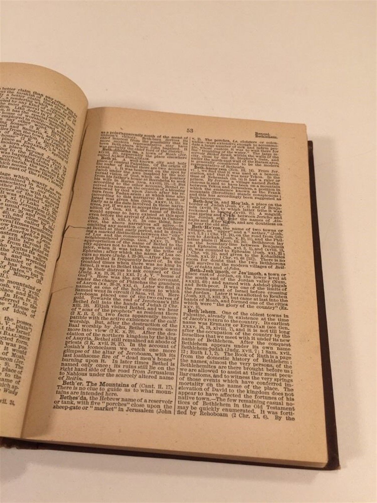 Smith's Bible Dictionary - 1880 - William Smith LL.D. - HC - Natural History