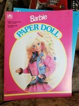 Vintage 1992 Barbie Paper Doll Book 1502-3 - $7.91