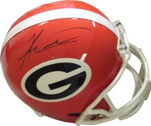 Knowshon Moreno signed Georgia Bulldogs Full Size Authentic Helmet- Moreno Holog