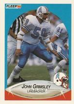 1990 Fleer #128 John Grimsley - $0.50