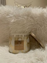 BATH & BODY WORKS CINNAMON CARAMEL SWIRL 3 WICK CANDLE 14.5oz   - $24.25