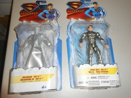 Lot of 2 MIB Unopened Superman Returns Figures Hologram Jor-El Space Sui... - $19.80