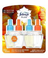 Febreze Plug Air Freshener Refills, Limited Edition Fresh-Harvest Pumpki... - $15.35