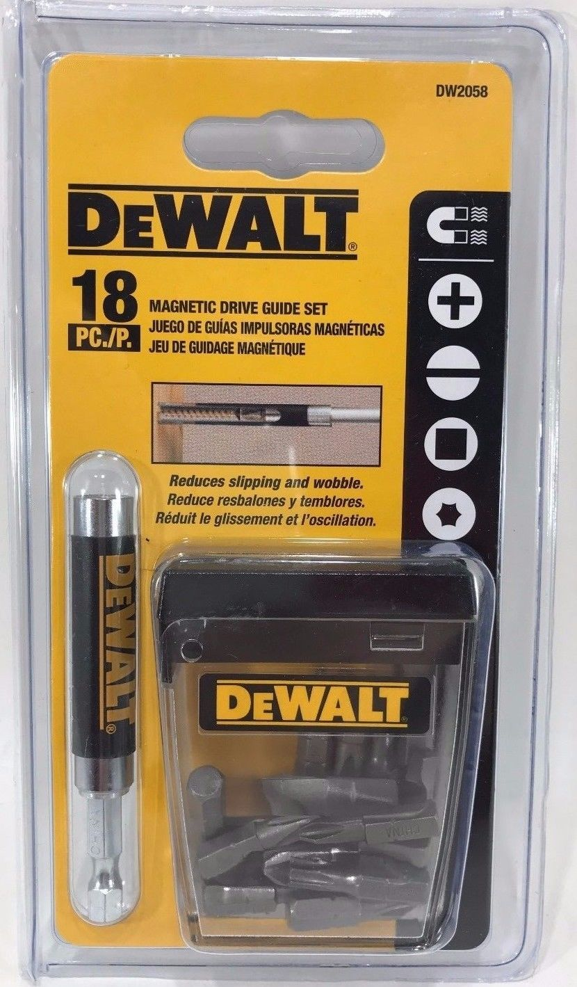 Primary image for Dewalt - DW2058 - Compact Magnetic Drive Guide Set, 18-Piece