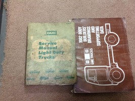 1982 GM GMC LIGHT DUTY Truck Jimmy Suburban Service Repair Shop Manual S... - $59.35