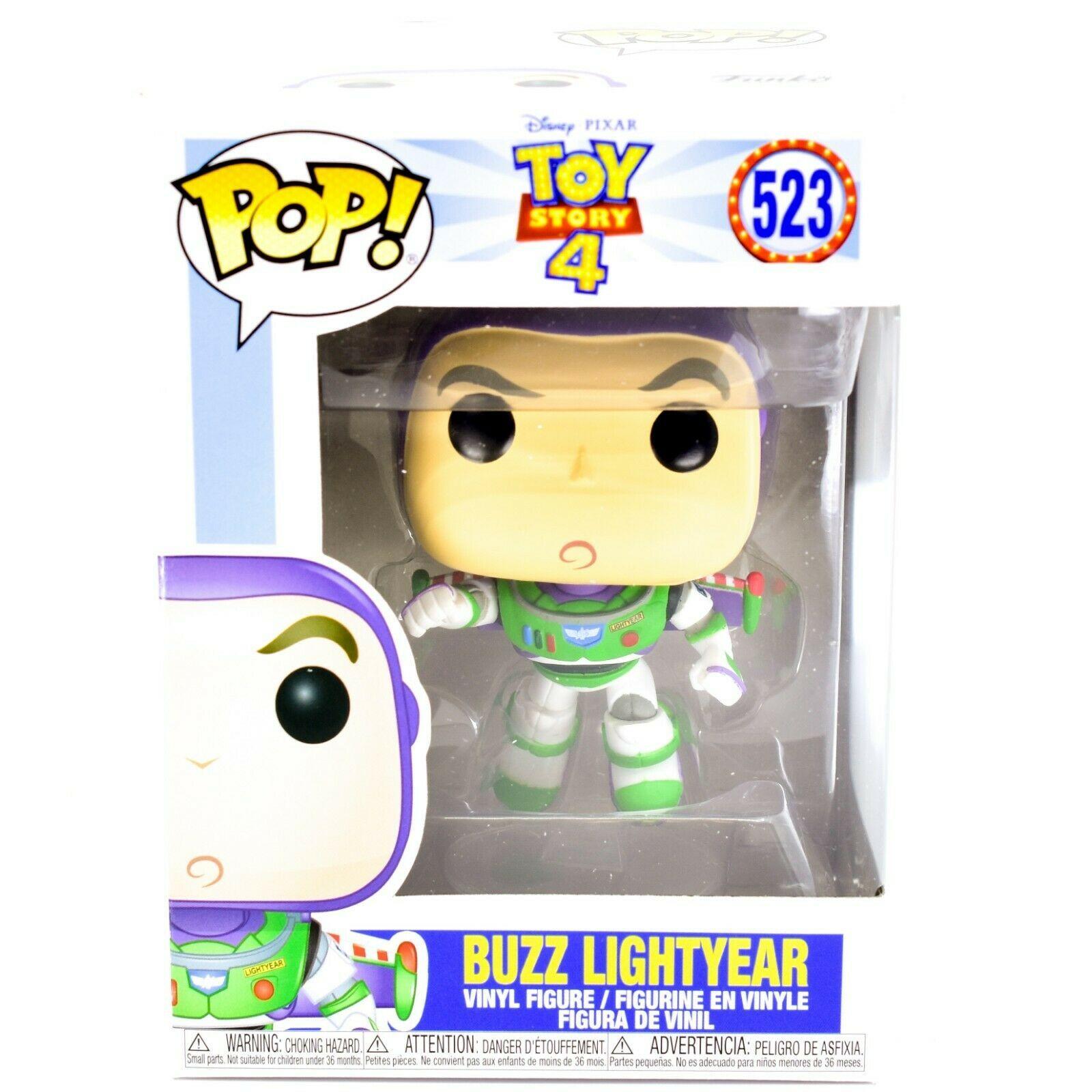 Funko Pop! Disney Pixar Toy Story 4 Buzz Lightyear #523 Vinyl Action Figure
