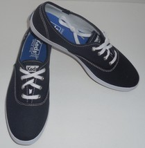 Keds Womens Size 7 Shoes Champion Navy Blue Canvas Sneakers WF34200 New - $29.69