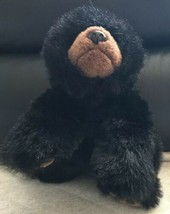 "TY 1996 Classic BLACK PAWS THE TEDDY BEAR 12"" Plush Stuffed Animal Toy - $14.84"