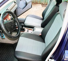 Made To Order For Mercedes W124 W210 W211 Sedan, Wagon Seat Cover Leatherette - $173.25