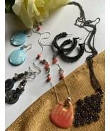 Fashion Jewelry Necklace Earrings Lots - $28.71