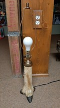 Vintage Taxidermy Deer Leg Lamp Man Cave Cabin Decor - $59.99