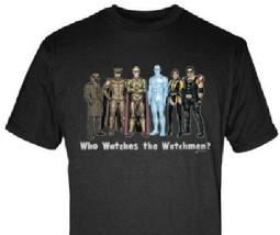 The Watchmen Movie Cast Art Rendition T-Shirt, NEW UNWORN - $14.50