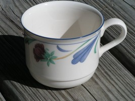 Poppies on Blue by Lenox FLAT CUP Chinastone - $24.30