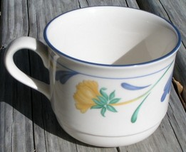 Buttercups on Blue by Lenox FLAT CUP Chinastone - $23.36