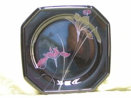 Ebony Fleur by Mikasa F3024 SALAD DESSERT PLATE... - $23.36