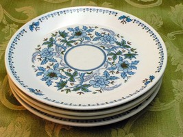 Blue Moon by Noritake 9022 LOT of 4 SALAD DESSE... - $46.74