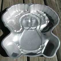 Cabbage Patch Girl Kid Wilton CAKE PAN Mold baking 2105-1984 vintage - $34.58