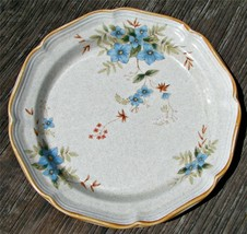Day Dreams by Mikasa Garden Club DINNER PLATE Japan blue flowers stoneware SH - $28.04