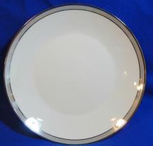 Gala Grey By Rosenthal 4042 Lot Of 3 Salad Dessert Plates Platinum Trim - $56.09