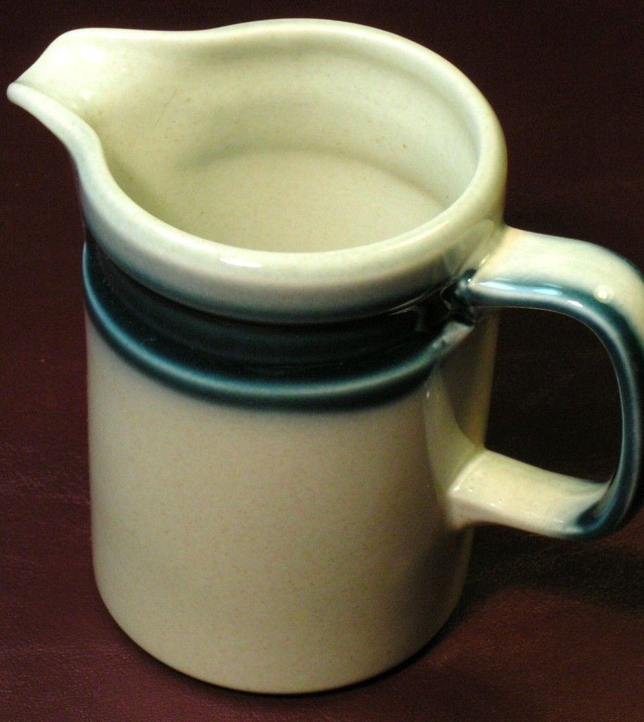 Blue Pacific by Wedgwood CREAMER 8oz vintage