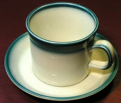 Blue Pacific by Wedgwood LOT 1 CUP + 1 SAUCER vintage image 2