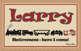 Personalized Train Sign - $15.00