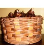 Woven Wood & Hemp Basket + Plastic Liner - $3.00
