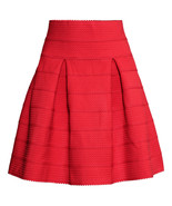 H&M Skirt with Textured Pattern Red Size XS or 2 - New with Tags SOLD OUT! - $50.00