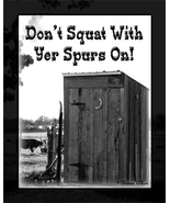 Outhouse Wall Decor Print for Bathroom - $14.50