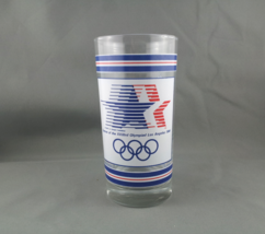 Official 1984 Summer Games Drinking Glass - Featuring both the mascot an... - $30.00