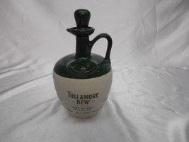 Old Vtg TULLAMORE DEW IRISH WHISKEY STONEWARE JUG ADVERTISING Distillery... - $29.69