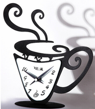 Wall Clocks Modern Design Decorative Clock Kitchen Contemporary Office N... - $39.00