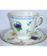 Old Tea Cup & Saucer by Duchess ~ Flowers w/ Gold Trim - $10.00