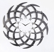 Wall Clocks Modern Design Decorative Clock Kitchen Contemporary Office N... - €81,47 EUR