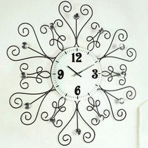 Wall Clocks Modern Design Decorative Clock Kitchen Contemporary Office N... - €82,39 EUR
