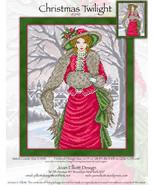Christmas Twilight JE240 cross stitch chart Joan Elliott Designs - $14.00