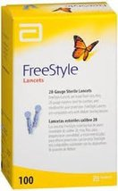 Freestyle Lancets - 100 ct. (Pack of 4) - $41.08