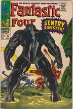 Fantastic Four #64 Silver Age Marvel Comic [Comic] by Stan Lee; Jack Kirby - $23.51
