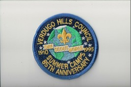 1910-1995 Verdugo Hills Council Summer Camps 85th Anniversary patch - $5.94