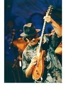 Carlos Santana Vintage 11X14 Color Music Memorabilia Photo - $12.95