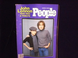 People Magazine December 22, 1980 John Lennon Tribute 1940-1980 - $7.00
