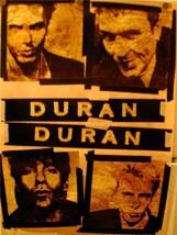 Duran Duran Wedding Album Promotional Vintage Poster - $12.00