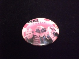 The Police 1980s Pin Back Button - $6.00