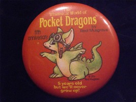 The Pocket Dragons Member Button - $6.00