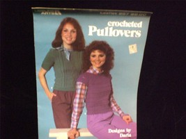 Leisure Arts Crocheted Pullover Pattern Book Designed by Darla Printed 1983 - $7.00