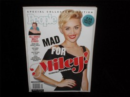 People Magazine Collector's Edition Miley Cyrus Mad For Miley 225 Photos - $9.00